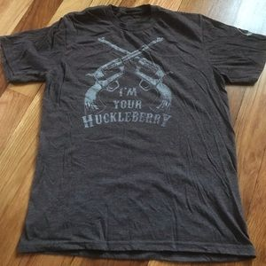 """I'm Your Huckleberry"" Graphic Tee"